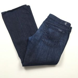 7 For All Mankind A Pocket Lexie Petite Flare Jean